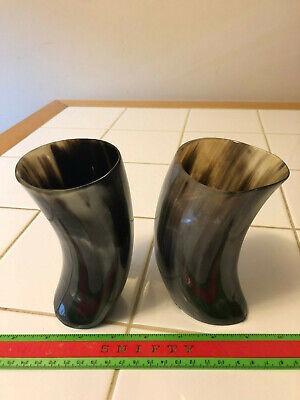 Two Horn Cups, Viking Cups