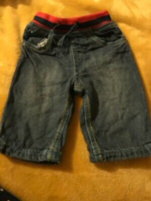 Babyboys Blue Zoo Jeans Funky Age 3-6 Months