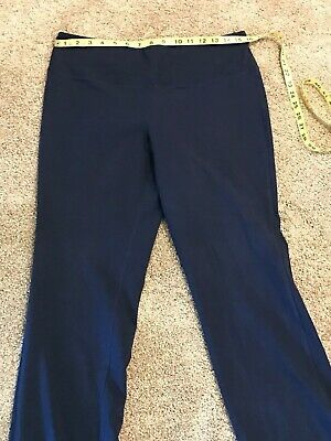 Style & Co. Sport Pull-On Straight Leg Knit Pants Industrial Blue size Med EUC