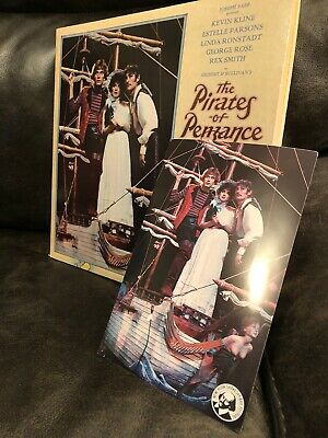 Ronstadt-Smith-Kline The PIRATES OF PENZANCE 2LP Vinyl Record Album set+postcard