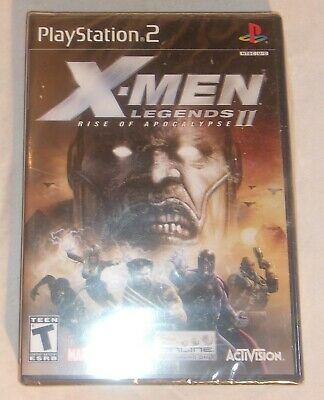 Fun Video Game For Sony Playstation 2 X-Men Legends 2 Rise Of The Apocalypse New