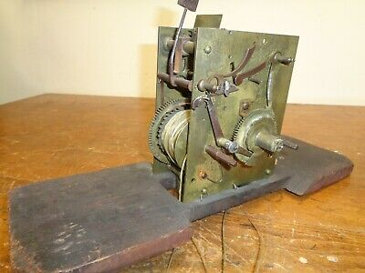 Antique Grandfather / Longcase Clock Movement