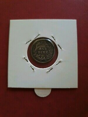 1910 Barber SILVER One Dime USA