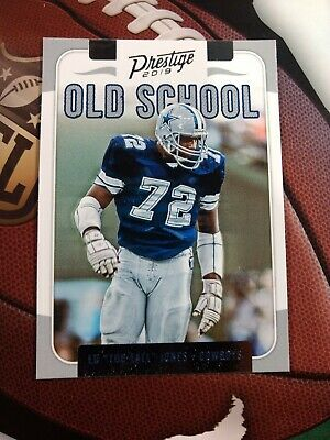 "ED ""Too Tall"" JONES 2019 Panini Prestige OLD SCHOOL #OS-EJ  Dallas Cowboys"