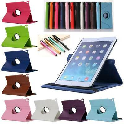 360 Rotating PU Leather Case Cover For Samsung Galaxy Tab A S4 S5e 8 10.1 Tablet