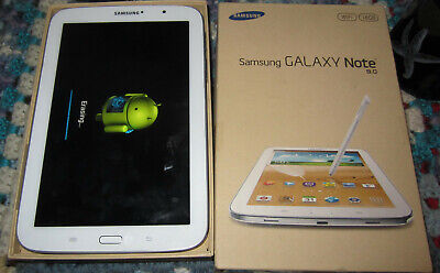 Samsung Galaxy Note 8 16GB WiFi Only Tablet with box GT-N5110