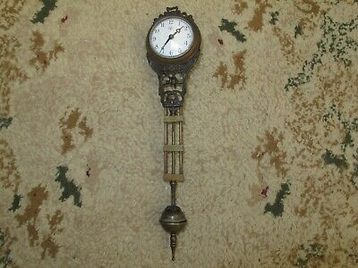 FOR JUNGHANS MOVEMENT  CENTER ARBOR . SWINGING CLOCK does not work not original