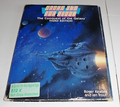 REACH FOR THE STARS The Conquest of the Galaxy THIRD EDITION Apple IIgs 1988 SSG
