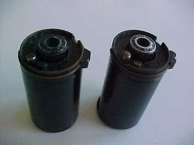 2 Contax 35mm film canisters      (box 9)
