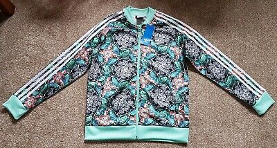 Adidas Full Zip Track Top. Age 12-13yrs. Brand New With Tags