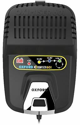 Oxford Oximiser 601 Motorbike Battery Charger Motorcycle Car Trickle Charger New