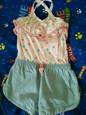Myer Sprout Size 1 Girls baby Playsuit