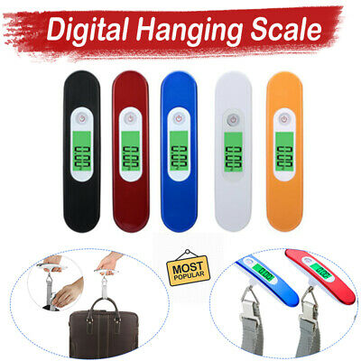 50kg Portable Hanging Digital Electronic Travel Suitcase Luggage Weighing Scales