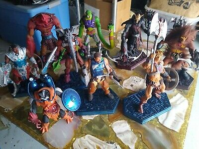 Masters Of The Universe Mini Statues Lot