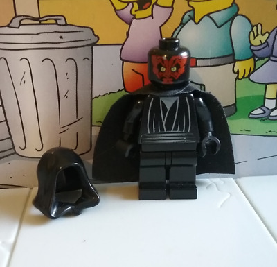 Star Wars lego mini figure DARTH MAUL 7663 7151 7101