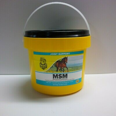 Equine Joint Support Select The Best Msm Supplement For Horses 2 Lbs. (.90 Kg)