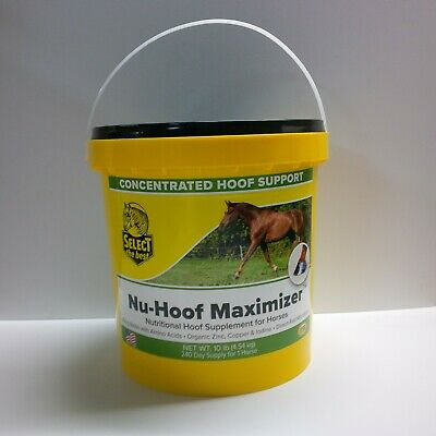 Equine Select The Best Nu-Hoof Maximizer Supplement For Horses 10 Lbs (4.54Kg)