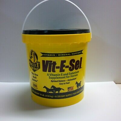 Equine Select The Best Vit-E-Sel Supplement For Horses 10 Lbs. (4.54 Kg)