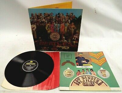The Beatles 1967 Original Sgt Pepper's Lonely Hearts Club Band Mono Vinyl Lp