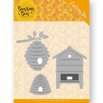 Find It Trading Honey Bee Hives 3 Piece Die Set Birthday New Home Card Making