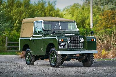 "Land Rover Series 2a 88"" Softop 1964 Nut & Bolt Restoration"