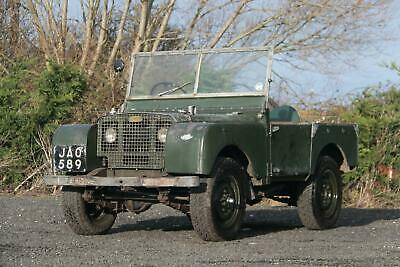 "Land Rover Series 1 80"" Lights Behind the Grille"