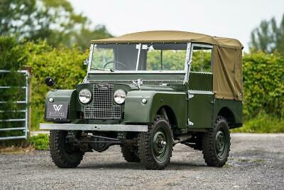 "Land Rover Series 1 80"" 1953 Model Year Restoration"