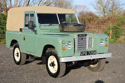 """Land Rover Series 3 88"""" 1974 Pastel Green Softop Refurbished TAX EXEMPT"""