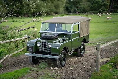 "Land Rover Series 1 86"" Nut & Bolt Restoration"