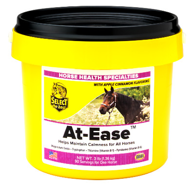 Equine Select The Best At-Ease Supplement For Horses 3 Lbs. (1.36Kg)