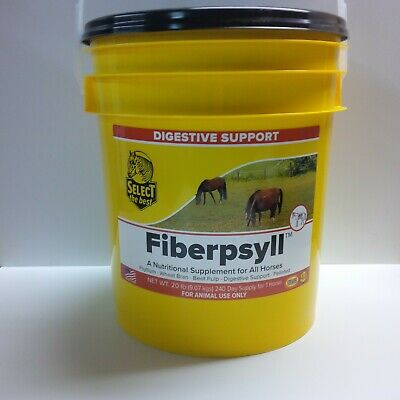 Equine Select The Best Fiberpsyll Supplement For Horses 20 Lbs. (9.07 Kg)