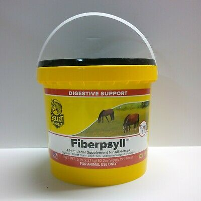 Equine Select The Best Fiberpsyll Supplement For Horses 5 Lbs. (2.27 Kg)
