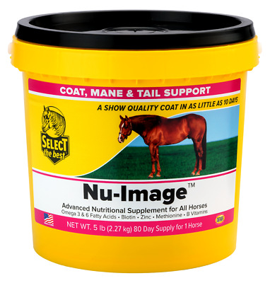 Equine Select The Best Nu-Image Supplement For Horses 5 Lbs. (2.27 Kg)