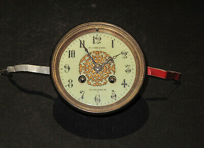 George Jones & Sons Clock Dial and F.E. Movement for Restoration, Spares & Repai