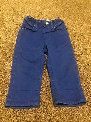 H&M Blue Denim Jeans Trousers Baby Boys 6-9 Months Clothes