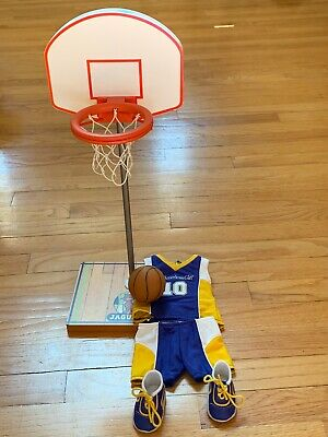 American Girl Julie Albright Basketball Accessories Hoop Ball & Outfit
