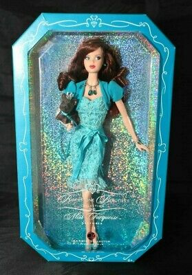 New 2007 Barbie Birthstone Beauties Miss Turquoise December NRFB
