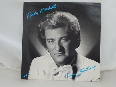 Eddy Mitchell / Happy Birthday LP 1980 Barclay made in France Muscle Shoals EX!
