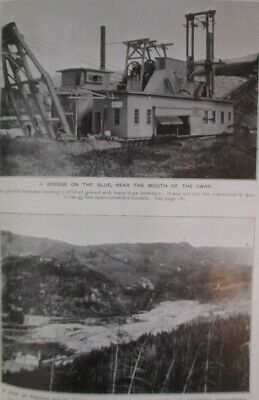 1911 Gold Mines, Placer Mining; Geology, Ore of Breckenridge, Colorado