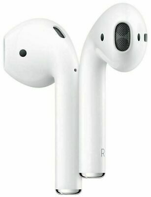NEW Apple AirPods Wireless Headphones  2nd Generation (No charger) MRXJ2ZM/A