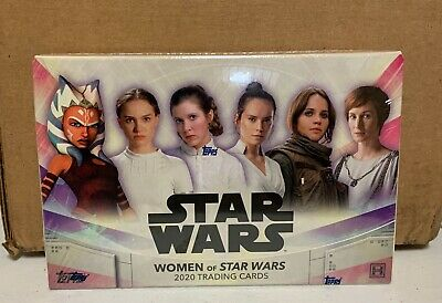 2020 Topps The Women of Star Wars FACTORY SEALED HOBBY BOX 1 Auto 7 packs