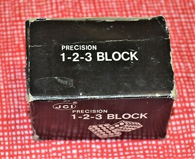 JCI Precision Steel 1-2-3 Blocks