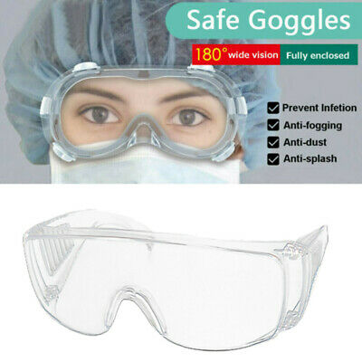 1/2/4/6PC Protective Glasses Anti Dust Fog Safety Goggles Work Eye Protection US