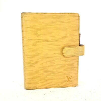 LOUIS VUITTON  Epi Agenda MM   96-ich0580 Notebook cover