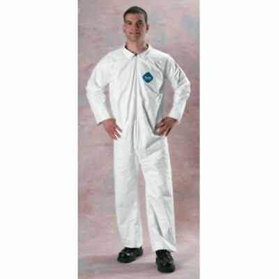 TYVEK Coverall Washable Swine Confinement Poultry Producers Loose Large Case 25