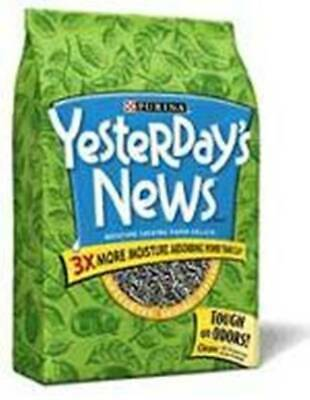 Vet Supply Cat Litter Yesterday's News 30LB Cat Litterbox Absorbent Recycled