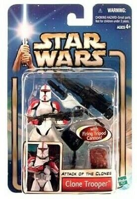 Star Wars Attack of the Clones Clone Trooper Action Figure