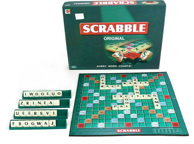 Scrabble Board Game Family Game Kids Adults Educational Toys Puzzle Party 2020UK