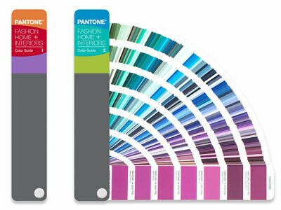 PANTONE FASHION HOME + INTERIORS guide. Latest guide with ALL 2,625 colours NEW.