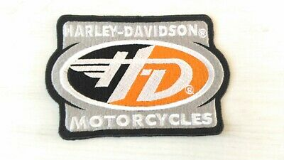 Patch écusson Harley motorcycles biker moto rectangle